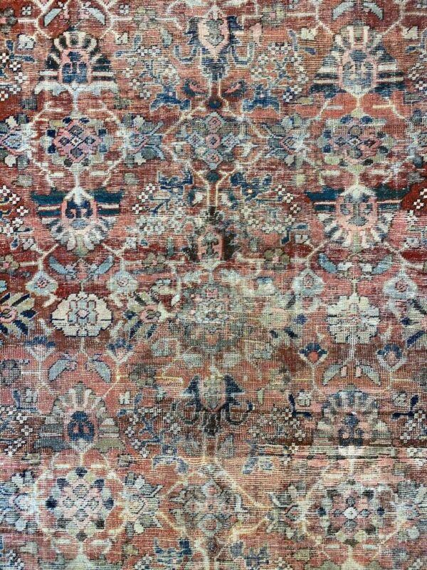 Tremendous Tribal - 1900s Antique Oriental Rug - Nomadic Carpet - 8.7 X 12.4 Ft.