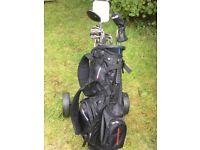 Golf Set with trolley & bag