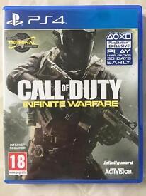 PS4 Call of duty infinite warfare Game