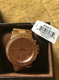 Michael Kors ladies chunky watch Rose Gold coloured