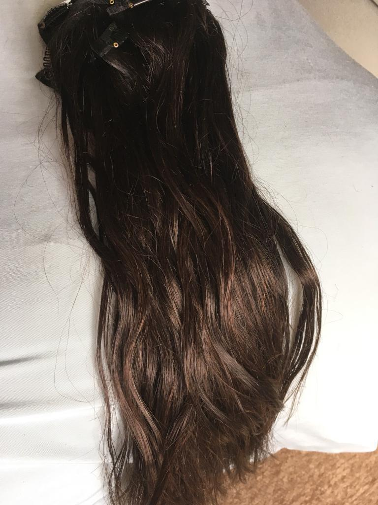 1618 Inch Clip In Hair Extensions Real Hair In Blyth
