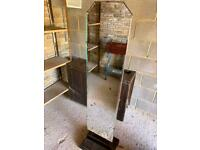 Stand alone antique Mirror