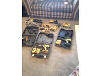 Dewalt power tools 18v bundle or will split