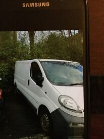 2003 VAUXHALL VIVARO LWB FOR SALE WHITE