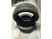 2x 215/40/17 budget tyres