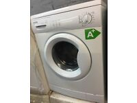 white pro Action washing machine it's 6kg 1000 spin in excellent condition in full working order