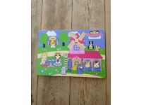 Happyland wooden jigsaw puzzle