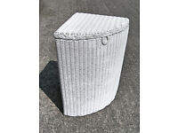 Collectable Vintage Lusty Lloyd Loom Corner Linen Basket VGC (WH_0366)