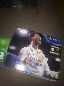PS4 bundle with FIFA18- Brand new