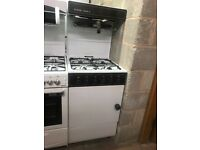 55CM WHITE/BROWN EYE LEVEL GAS COOKER