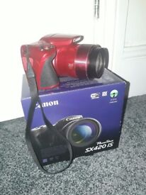 Canon Powershot SX420 IS 20Megapixel (Red)