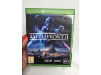 Xbox one Star Wars battlefront 2 excellent condition