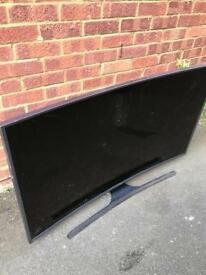 Samsung curved tv 55inches