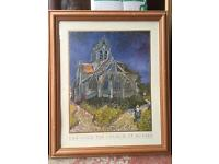 Wooden framed Van Gogh picture