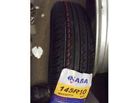 145 x 10 145 80 x 10 TYRES FOR TRAILERS OR CLASSIC MINIS