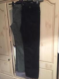 2 Pair Of M&S Blue Harbour Jeans - (Mens)
