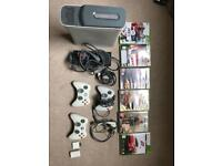 Xbox 360 + 3 pads + 5 games