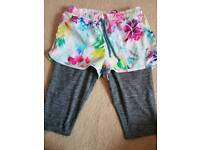 Next shorts and leggings set aged 9