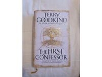 NEW SIGNED TERRY GOODKIND BOOK 'THE FIRST CONFESSOR'