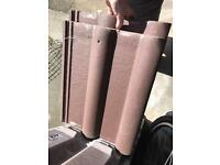 S Marley Red Concrete Roof Tiles x 20