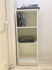 3 Level Bookshelf - White