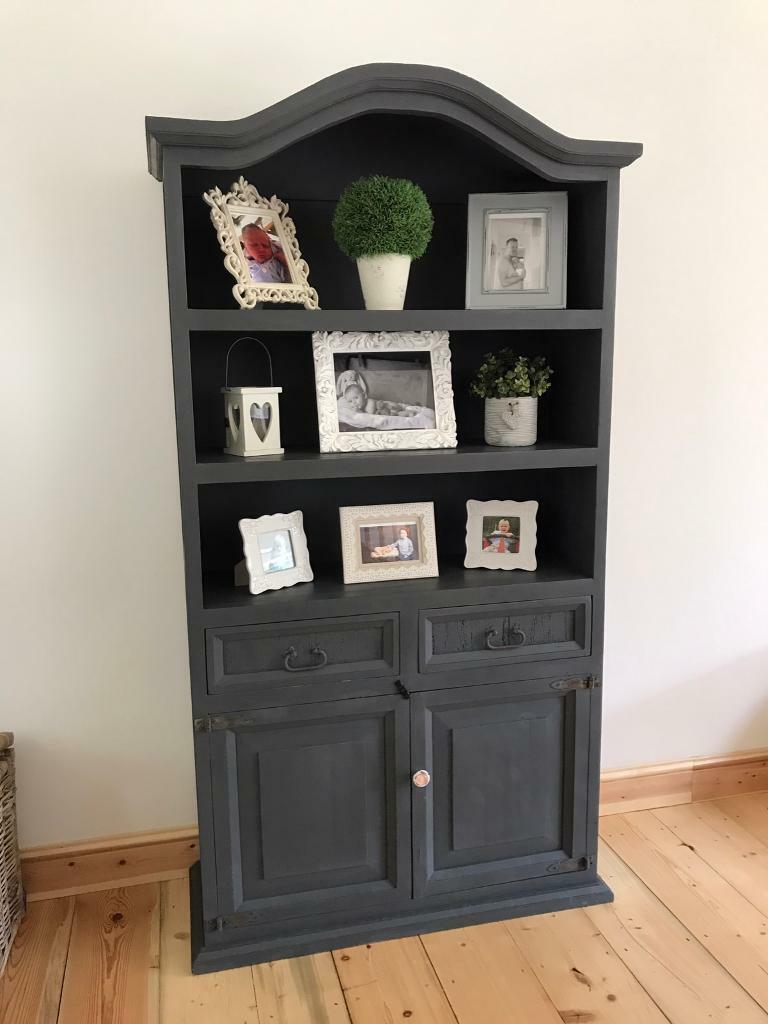 Shabby chic grey dresser unit