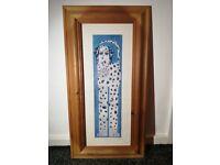 Vintage Framed Dalmatian Print