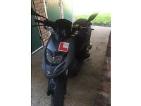 Piaggio typhoon 125 for sale 2016 bike is like brand new £1900