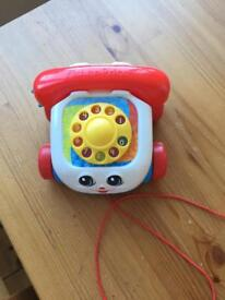 Fisher Price pull along telephone