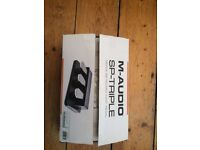 M-Audio SP-Triple Keyboard Foot Pedal (Like New Condition!)
