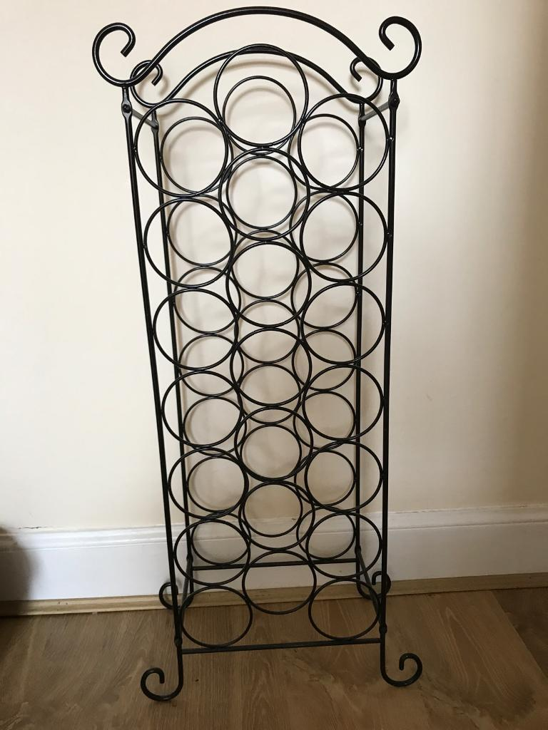 Wrought Iron Wine Rack In Perth Perth And Kinross Gumtree