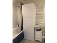 IKEA Besta shelfs cupboard with Selsviken white high gloss doors - nearly new!