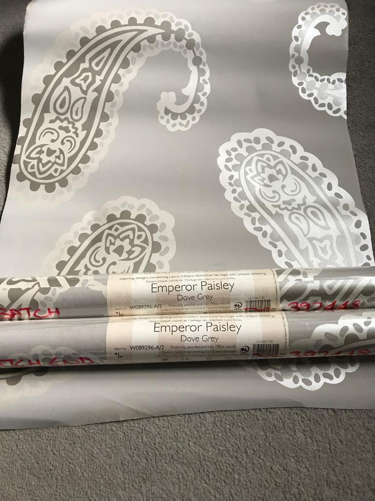 Laura Ashley Emperor Paisley 2 rolls wallpaper