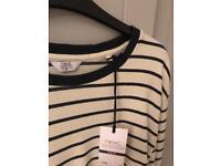 Men's NEXT XL Nautical Stripe Long Sleeve BNWT