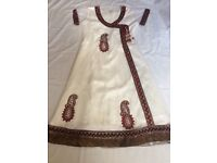 Girls Indian net dress size 36