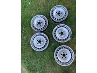 205/16 inch steel wheels x5 crafter/sprinter