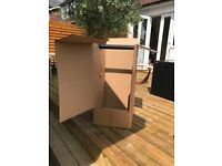 FREE TO COLLECT!... 3 x Cardboard Garment Wardrobe Moving Packing Boxes