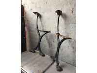 Walter Macfarlane & Co Glasgow Victorian Cast Iron Bench Ends Bandstand Bench- DELIVERY/COLLECTION
