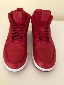 Red Nike Air Jordan's Sz 8.5