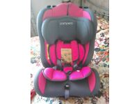 Pampero car seat, 0-7 years immaculate