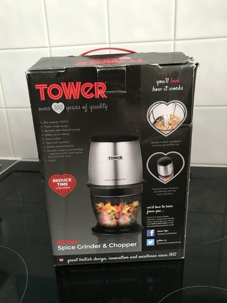 Tower Spice Grinder and Chopper
