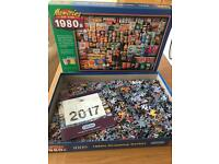 Gibsons 1980's Shopping Jigsaw 1000 pieces