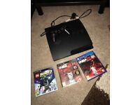 PS3 very good condition plus 3 games