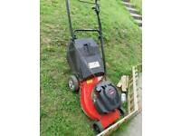 Petrol self propelled mower