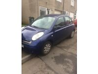 Nissan micra 05 plate