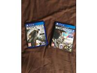 Watch dogs 1&2