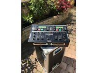 Numark CD Mix 1 - Dual CDJ DJ CD player and CDJ Mixer w/ Jog wheels. Like Pioneer   Mix one