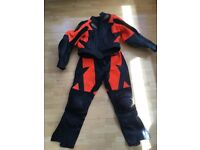 Motorcycle/ motorbike leathers jacket and jeans set - size 14-16 - excellent condition