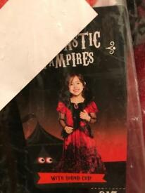 Fantastic Vampires dress outfit with soundchip. New with tags