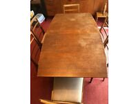 Dining Room table and 6 chairs – McIntosh Furniture Ltd